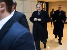 Commissie wil Bannon dwingen te praten over Russische inmenging