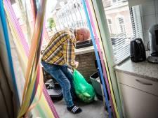 Bewoner binnenstad Arnhem heeft moeite met afvalscheiding: 'Opsparen gaat stinken'
