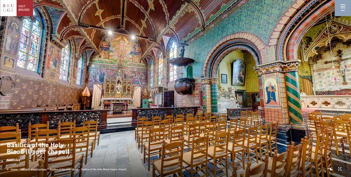 Basiliek van het Heilig Bloed: de bovenkapel.