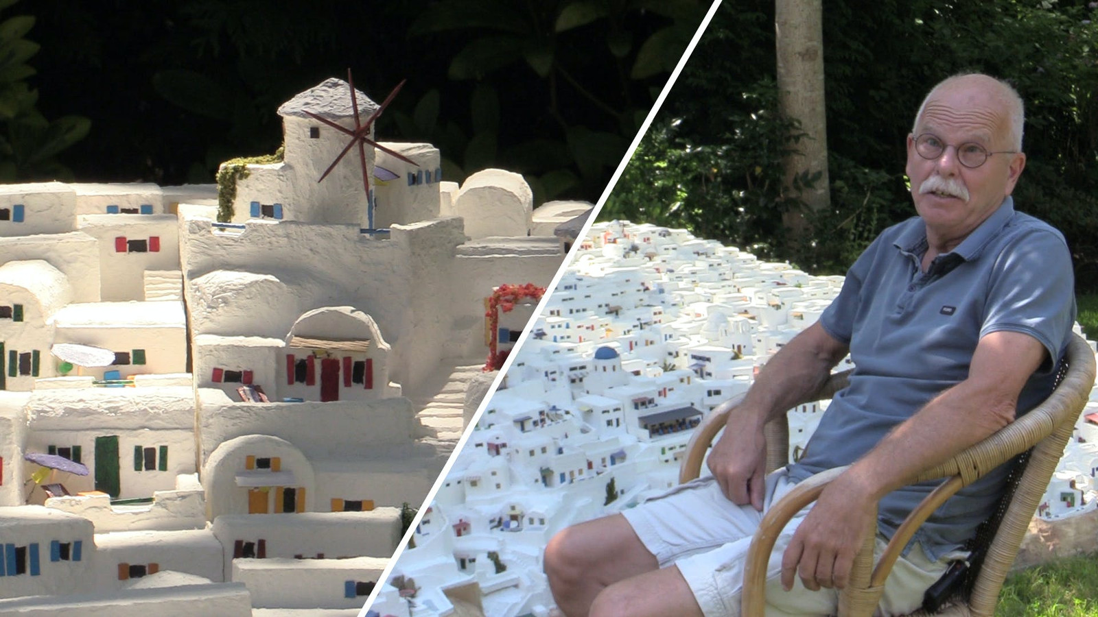 Videostill Santorini in je tuin