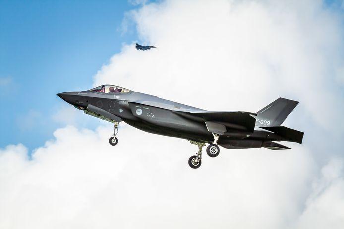 De F-35 is de opvolger van de oude F16.