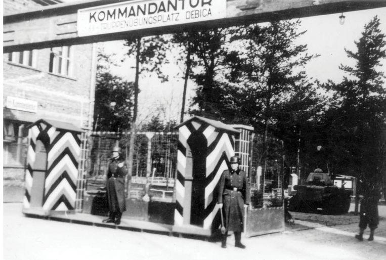 De leden van het Vlaams Legioen werden eerst opgeleid in Debica (foto) in het oosten van Polen. Vanaf eind 1941 werden ze ingezet tegen partizanen in de buurt van Leningrad. Beeld YAD VASHEM