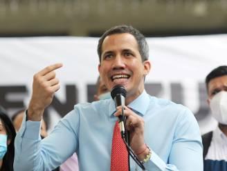 Venezolaanse oppositieleider Guaidó spreekt met Blinken