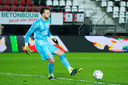 Joël Drommel tijdens AZ-FC Twente.