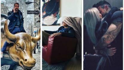 Vandaag op Instagram: 'Insta-officieel', rodeo in New York en platte rust voor Matteo Simoni