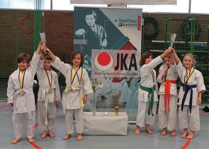 Ook de jonge Shoku-Kanners haalden bijzonder mooie resultaten.