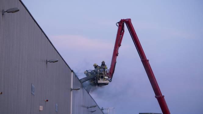 Brand in aluminiumfabriek in Harderwijk onder controle: 'Was lastig te bestrijden'