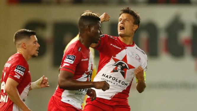 Zulte Waregem sleept in burenduel tegen KV Kortrijk punt uit de brand na twee goals in vier minuten
