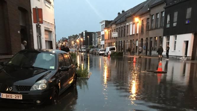 """Hevige regenval zet Lierse straten weer onder water: """"Hoopten dat probleem was opgelost na rioleringswerken"""""""