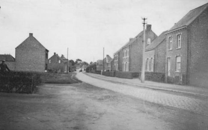 Een oude foto van Bevel-Dorp.