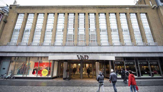 Exterieur van de V&D-vestiging aan de Grote Staat in Maastricht
