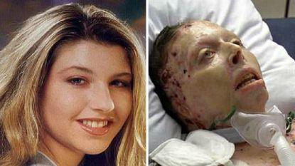 Judy sterft nadat ze in brand gestoken werd door haar ex. Dankzij opgenomen videoboodschap zal ze nu toch nog tegen hem kunnen getuigen