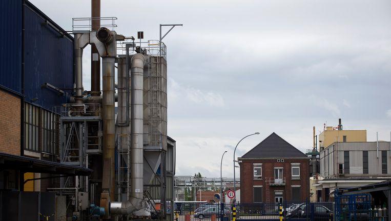 De Umicore-fabriek in Olen. Beeld BELGA