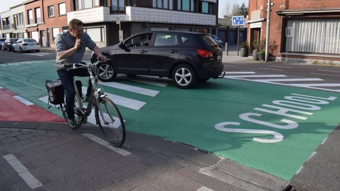 Groene wegmarkering moet schoolomgevingen veiliger maken