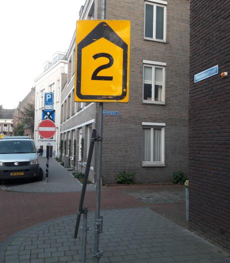 Nog steeds fouten gemaakt bij omleiding Zuidwal in Den Bosch