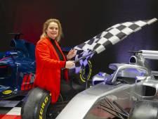 De Mercedes van Lewis Hamilton moet in Bentheim de spectaculairste troef worden