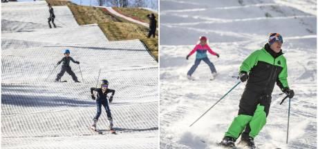 Van -5 in de sneeuw tot +18 op de borstels: in Enschede wordt ongeacht de temperatuur geskied