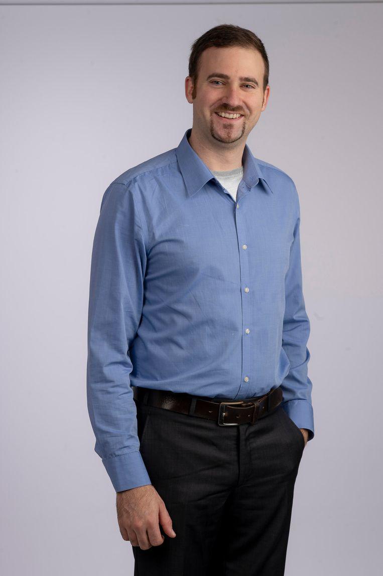 Onderzoeker Matthias Van Hul Beeld Jos Verhoogen