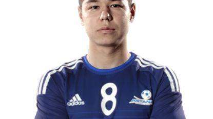 Wat zegt u de naam Georgi Zhukov? Debuut bij Beerschot Opgeroepen voor Jonge Duivels Champions League met Astana 11 A-caps voor Kazachstan