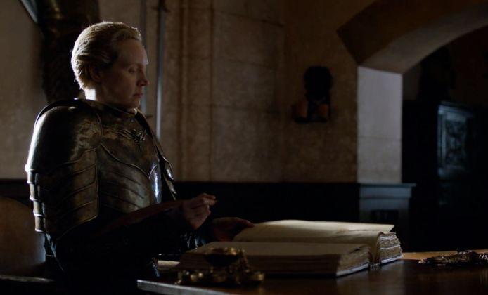 Brienne wordt biograaf.