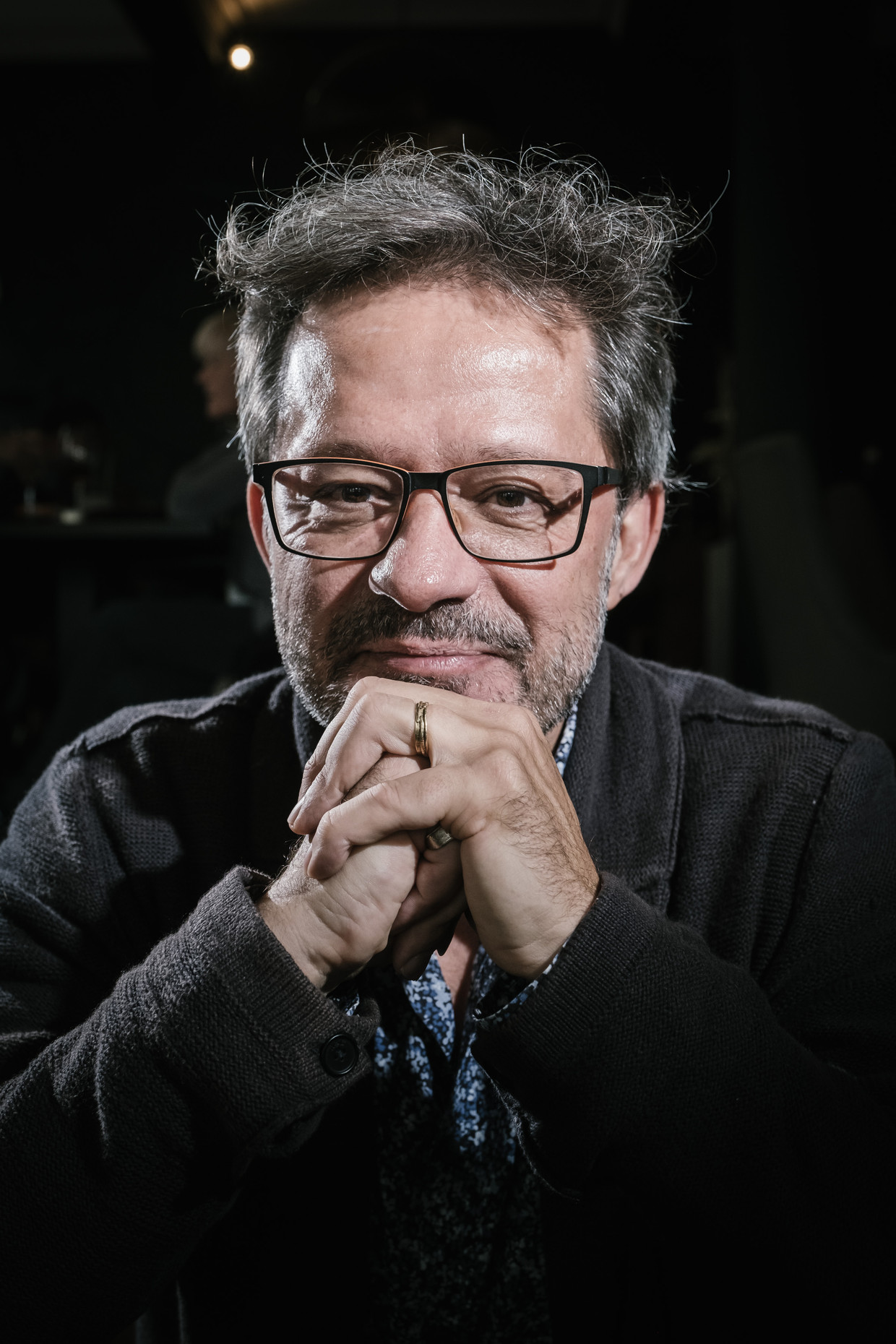 Manuel Sintubin (KU Leuven): 'Het tijdperk van de klimaatwetenschappers ligt achter ons, zij hebben hun werk gedaan, de diagnose is bekend.' Beeld Wouter Van Vooren