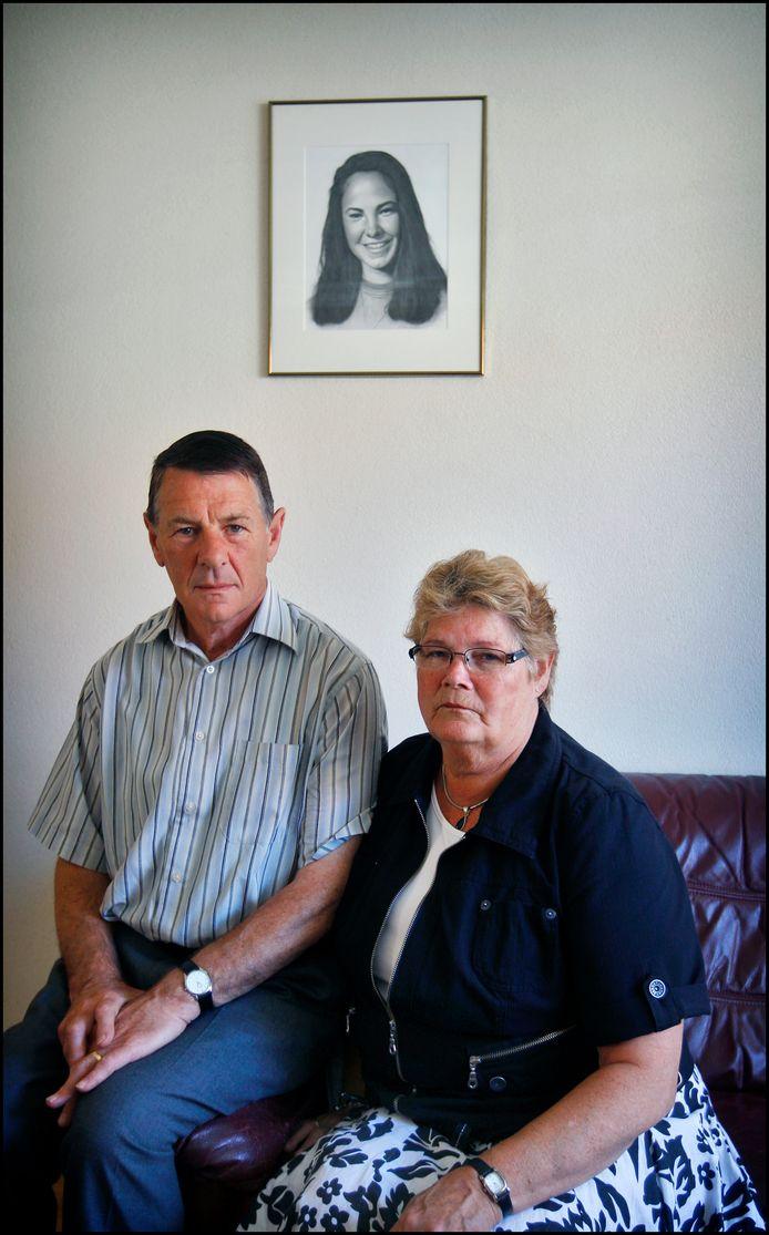 Adrie en Corrie Groen, de ouders van de sinds 1993 vermiste Tanja.