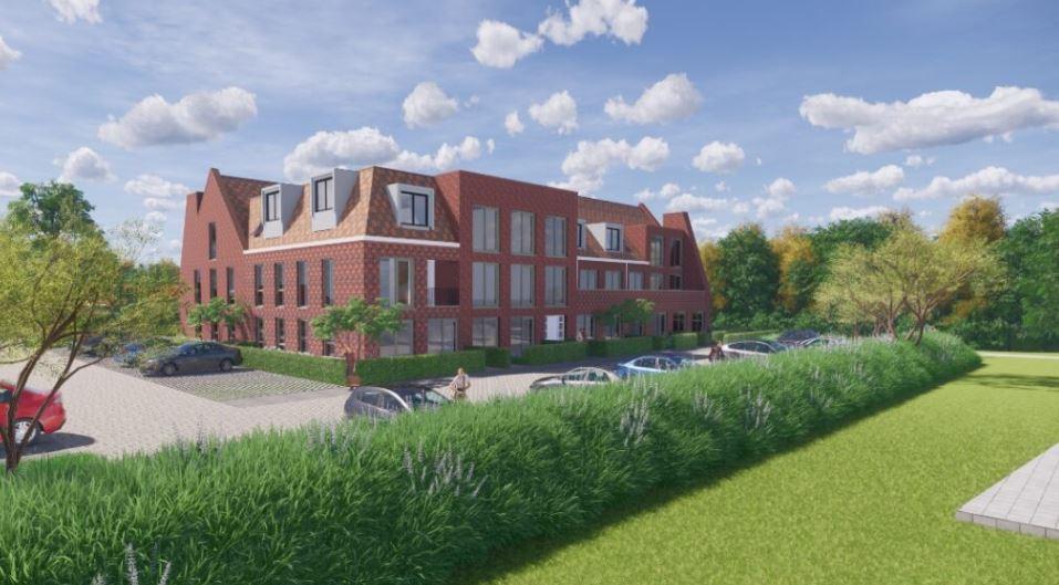 Impressie van de appartementen op het werkeiland in Lelystad-Haven.
