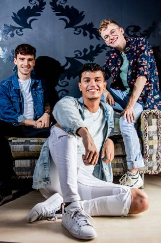 """Luca, Dirk en Remi houden de mannelijke eer hoog in 'K2 zoekt K3': """"Veel fans zagen een jongen eerst niet zitten"""""""