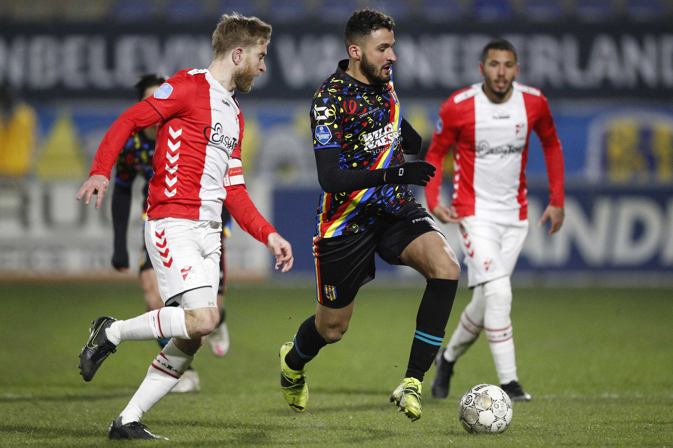 Ahmed Touba maakte in de 90ste minuut de 1-0 voor RKC.