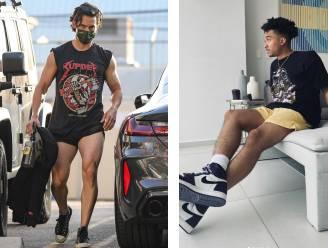 """Wordt het de zomer van de microshort voor mannen? Mode-expert: """"We zien een Cristiano Ronaldo-effect"""""""