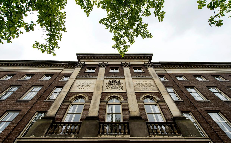 Voor verbouwing van het voormalige Paleis van Justitie is vorige maand een omgevingsvergunning verleend. Beeld ANP
