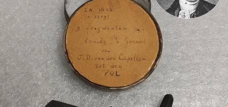 Duizenden museumstukken in Zwolle onder de loep: HCO 'ontdekt' resten opgeblazen tombe Van der Capellen