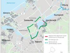 Nacht- en weekendafsluiting N302 tussen Harderhaven en Harderwijk