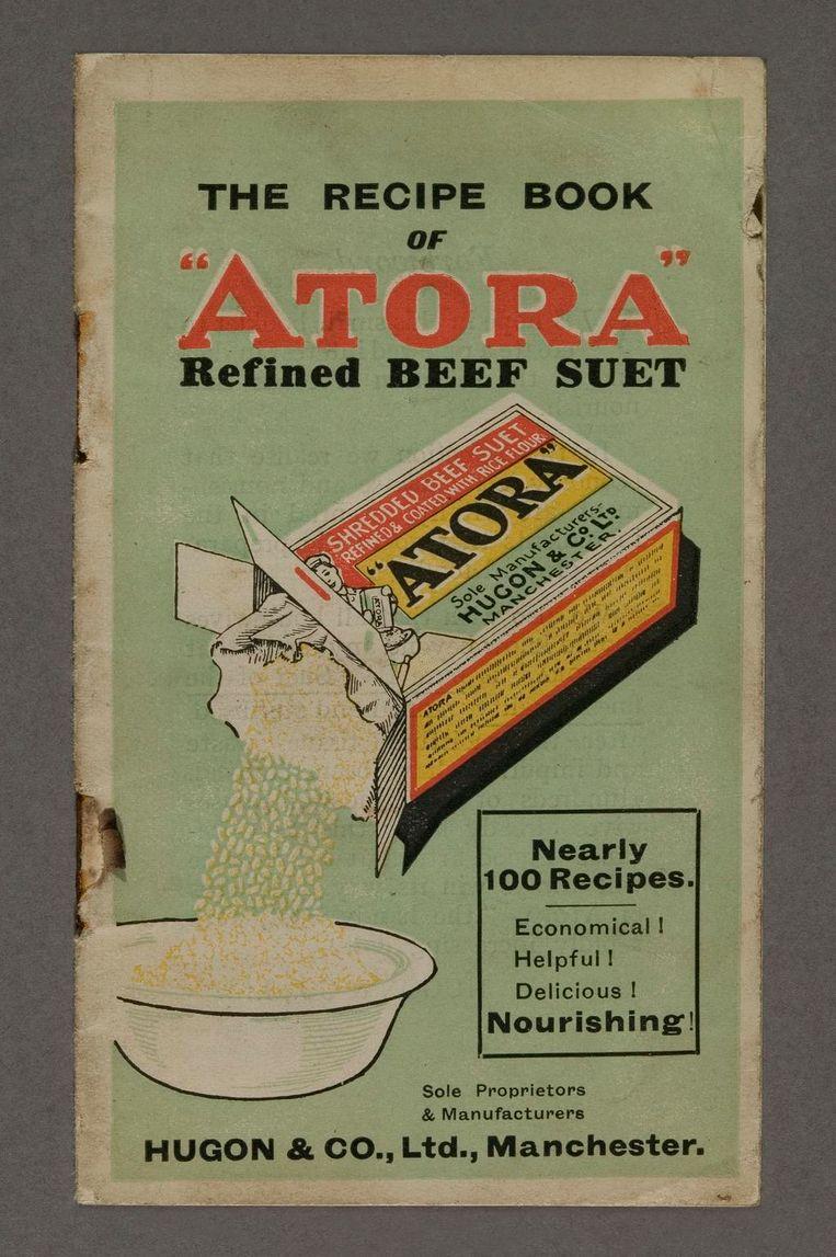 Een kookboekje met 'bijna honderd' runderniervet recepten (periode 1945-1955). Beeld Science Museum London