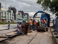 Eerste delen verbreding van Burgemeester Elsenweg al zichtbaar: Werk gaat als een trein