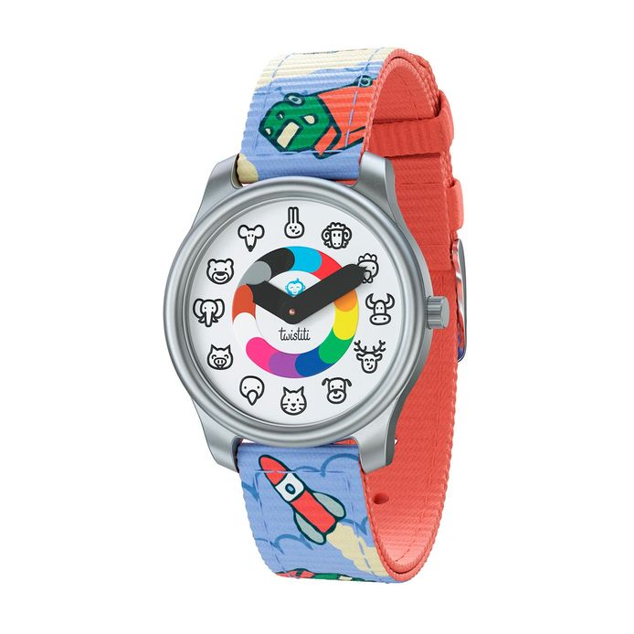 La montre Twistiti qui apprend aux plus petits à se repérer dans le temps.