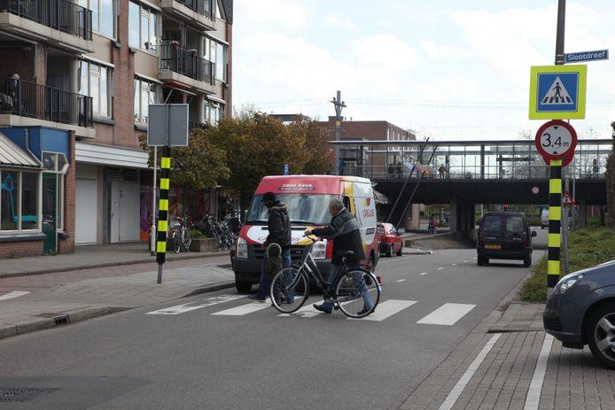 Zogeheten kleurenkokers bij voetgangersoversteekplaatsen. Ook Heusden hecht veel waarde aan het thema 'zichtbaarheid' in het verkeer.