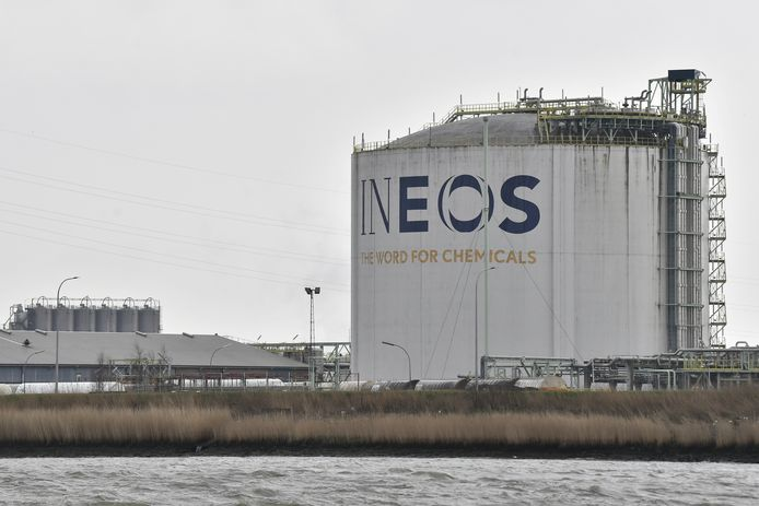 Illustration picture shows the site Ineos chemical multinational in the Antwerp harbour, Friday 06 March 2020.  BELGA PHOTO DIRK WAEM