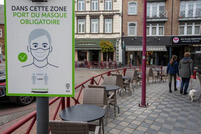Le centre de Wavre samedi (illustration).