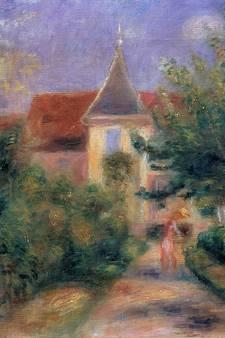 Bij de Franse schilder Renoir thuis
