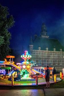 Kermis achter kasteel Wijchen is hit: 'Het is een mooi rondje geworden'