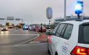 Bij het ongeluk waren drie voertuigen betrokken.