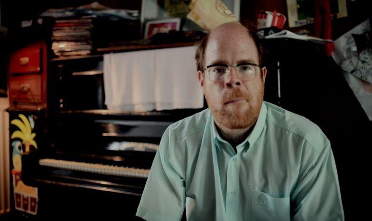 Bruno Vanden Broecke in de mockumentary 'Wien is 't Hof van Commerce'. Beeld RV