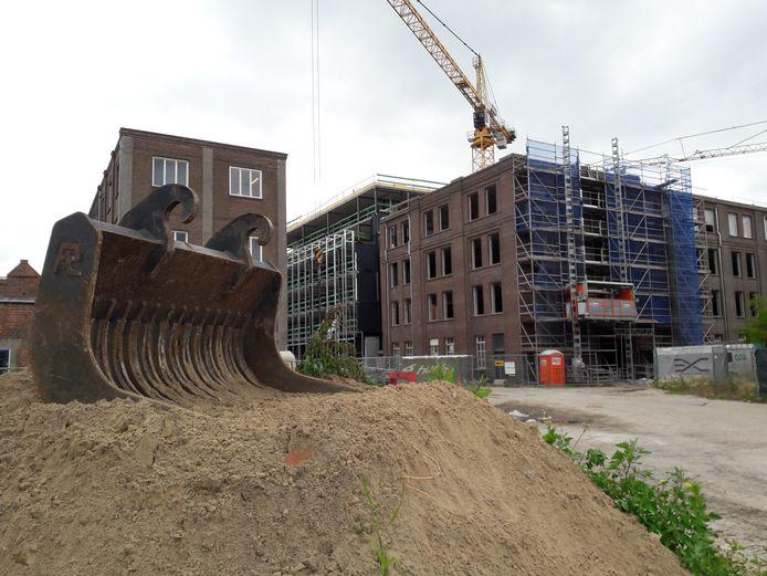 De nieuwbouw van het KVL-hotel is nog in volle gang