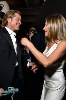 Les retrouvailles complices entre Brad Pitt et Jennifer Aniston