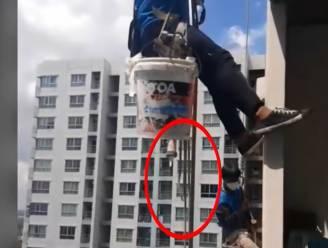 """Thaise vrouw snijdt steuntouwen van schilders aan torenhoog gebouw door omdat herstelwerken haar """"irriteren"""""""