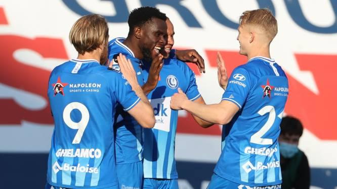 AA Gent haalt met 2-7 uit bij Zulte Waregem en mag zich opmaken voor play-off 2