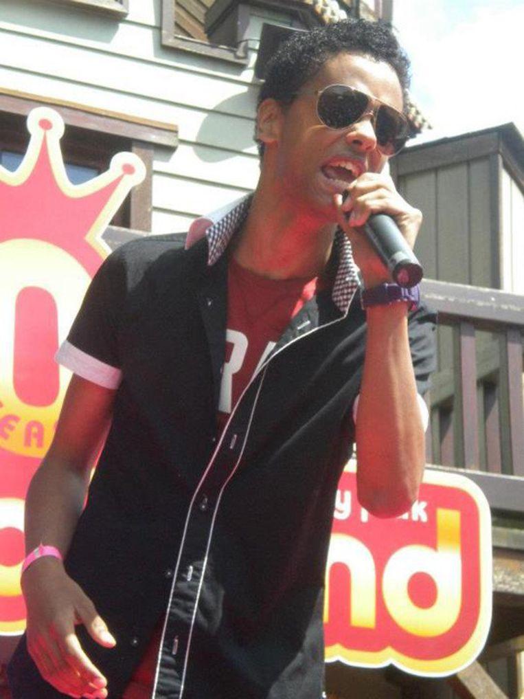 Elk bandlid heeft zijn eigen stijl: Kevin Kayirangwa is de R&B'er. © Facebook Kevin Kayirangwa.