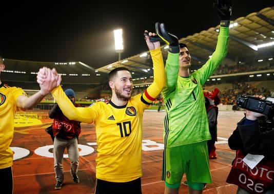 100 caps, 30 buts: Eden Hazard est au sommet de son art en équipe nationale.