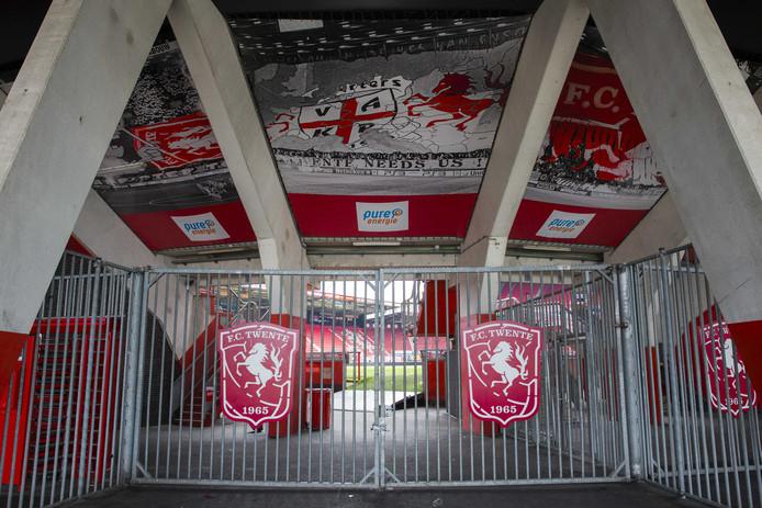 De ingang van Vak-P bij stadion De Grolsch Veste.
